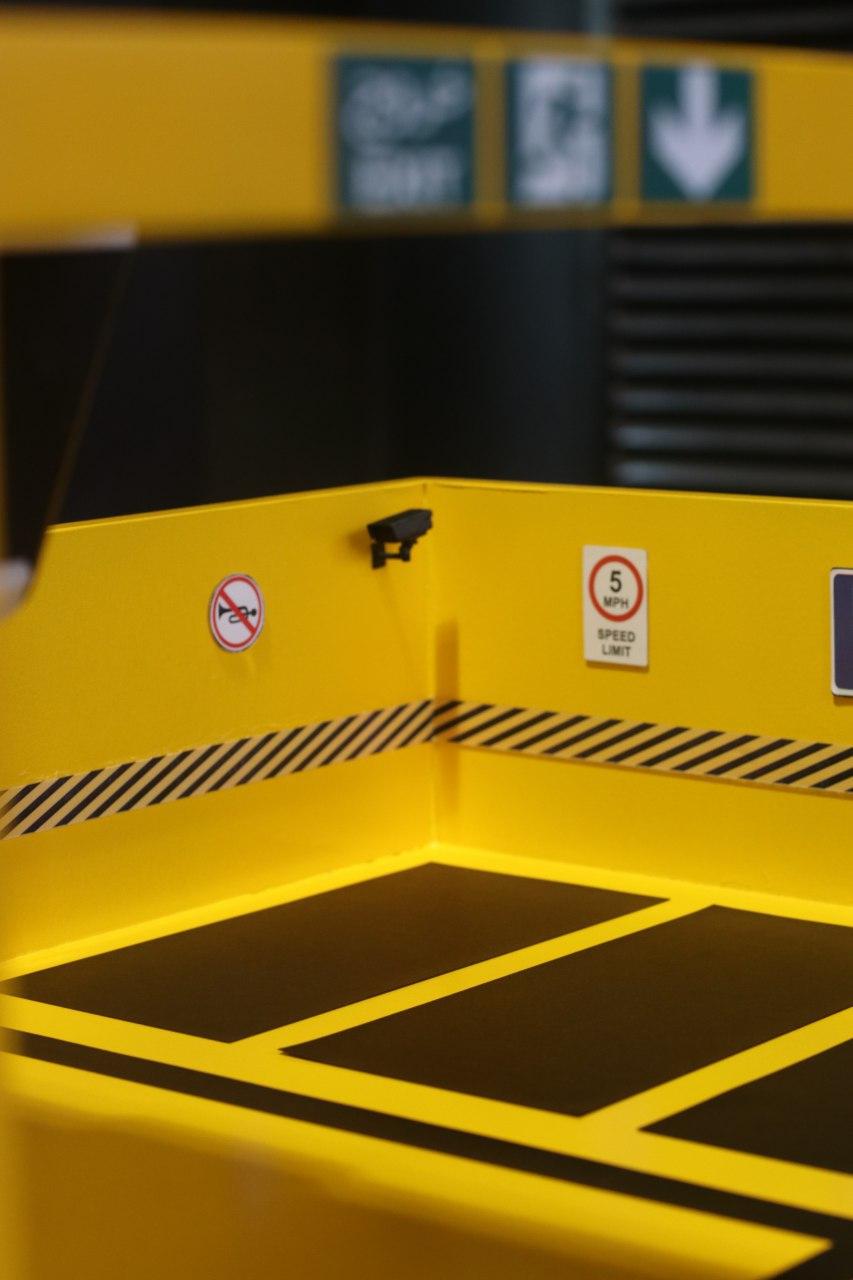 ماکت پارکینگ هوشمند شرکت فرتاک